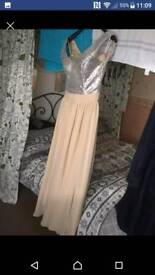 Size 6/8 dress gown