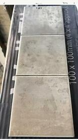 100x100 Glazed Italian Marble Effect Wall Tiles.