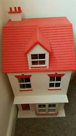Refurbished Traditional Wooden Dolls House
