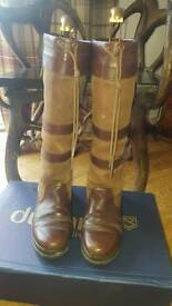 Dubarry boots size 7