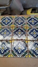 Handmade Mexican Wall Tiles