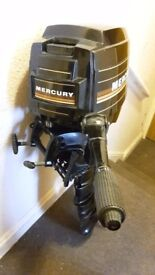 2 stroke 7.5 mercury outboard in very good condition