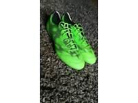 Size 10 Adidas Adizero champions league boots.