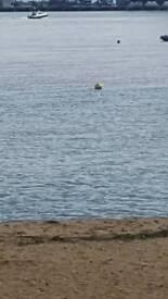 Boat mooring . Harwich.