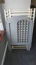Brand new cot bed 120/60