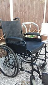 Wheelchair and zimmer frame