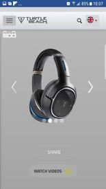 Turtle beach elite 800 wireless gaming headfones