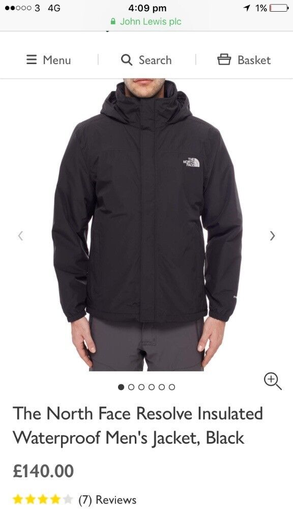 North Face size M brand new jacket