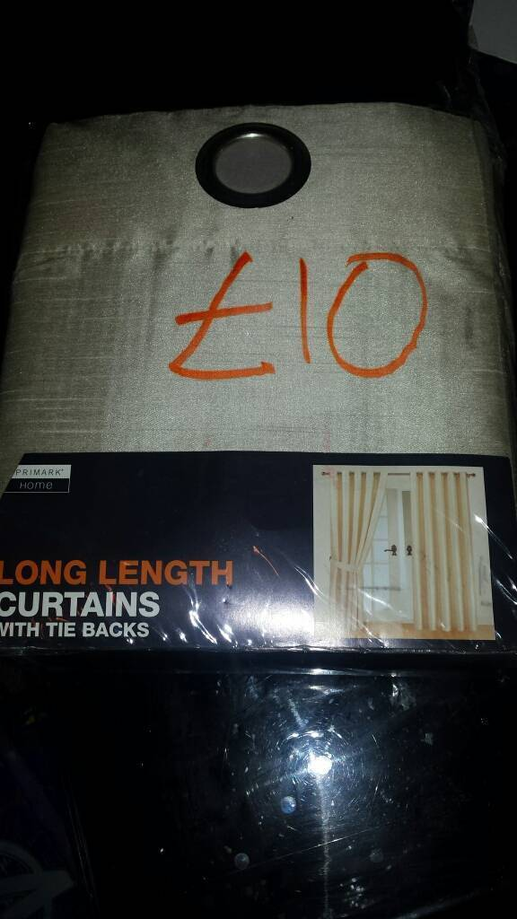 New curtains for sale long lenght