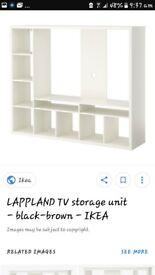 Tv unit/ multi media shelving