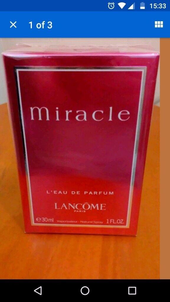 Brand new Lancome Miracle 30ml Eau de Parfum