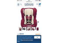 Car seat retailing at £90