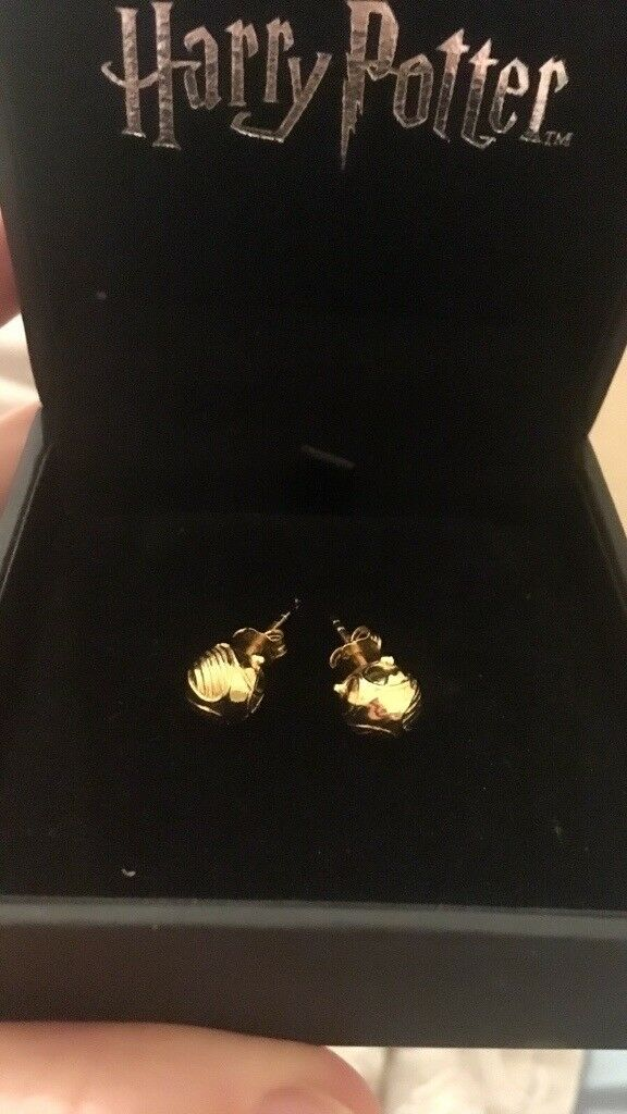 Golden Snitch Earrings From H Samuel Harry Potter Collection