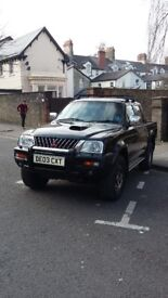 SPARES-OR-REPAIRS-Mitsubishi-l200-2003-Double-cab-12mthMOT-recon engine 2015