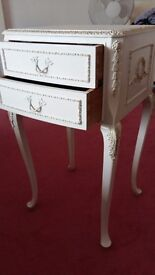 Antique french louis bedside table