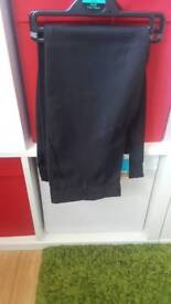 2 pairs Brand new boys 5-6 black trousers