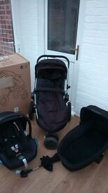 Quinny Buzz Rocking Black Travel System