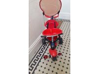 Little girls smart trike used but very good condition