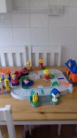fisher price little people train set