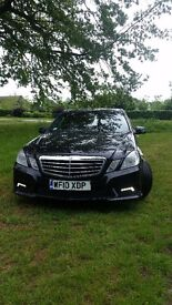 Mercedes-Benz e350 Sport.I owner.FSH.Recently serviced.167000 motorway miles.PCO badge.