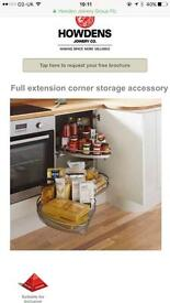 HOWDENS Kitchen Full Extension Corner Storage Accessory