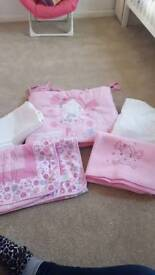 Princess Pollyanna Cot Set
