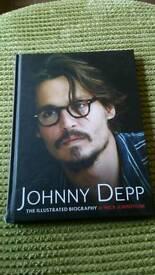 Johnny depp illustrated biography book