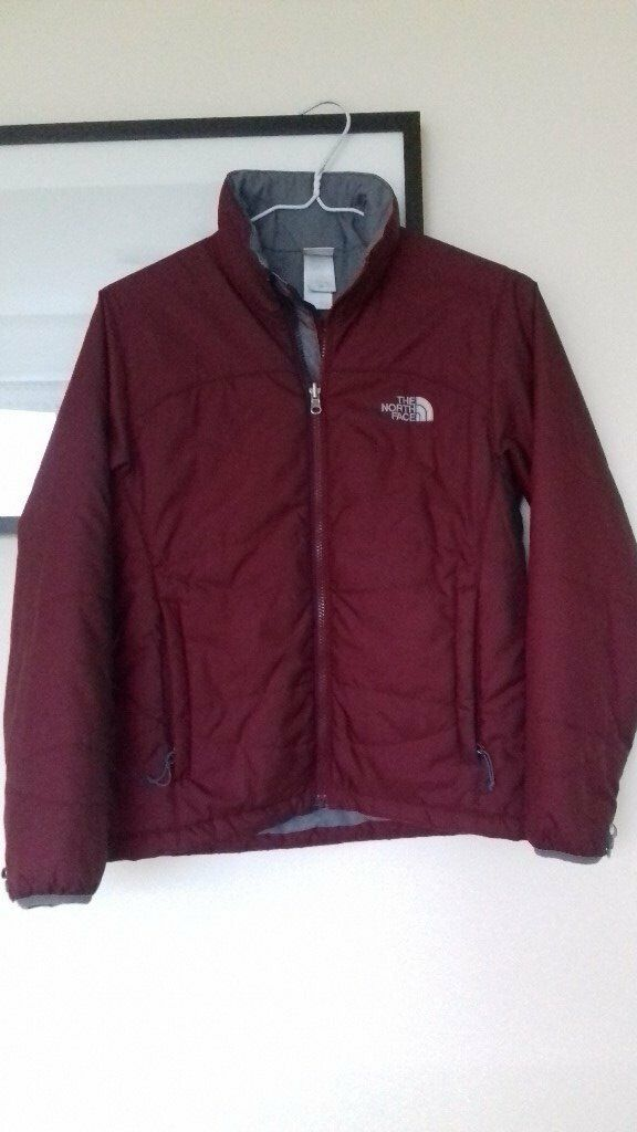 A ladies' North Face insulation jacket, size S , excellent condition