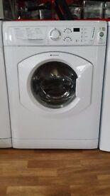 HOTPOINT 7kg 1600 spin washing machine.