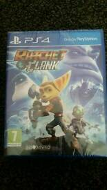 Ps4 cd game ,rachet clank , brand new sealed