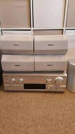 Used Technics SA-DX940 AV Receiver 5.1 Channel Surround Sound 500 Watt With 5 x Speakers and Sub