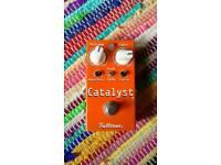 Fulltone catalyst fuzz overdrive guitar pedal