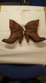 Light brown ladies boots