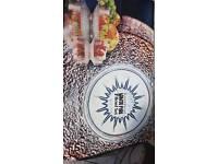 Ravenhead white fire 7 peace bowl set