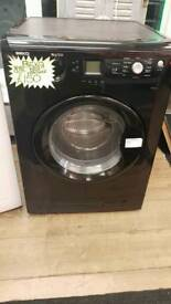 BEKO 8KG LOAD 1200SPIN WASHING MACHINE IN BLACK