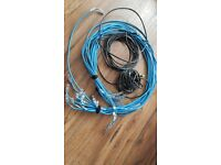 16 Network Ethernet cables - new condition