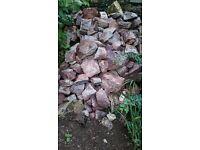 6/7 tones of Walling stone / rockery