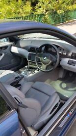 BMW E46 M3 Mystic Blue