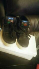 Black high tops size 6
