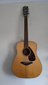 Steel string guitar in good condition