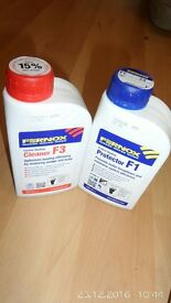 Inhibitor fernox f1 and fernox clean f3. *REDUCED PRICE* (Set of 1 bottle each).