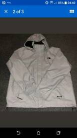 WOMAN'S north face resolve dryvent jacket size xxl