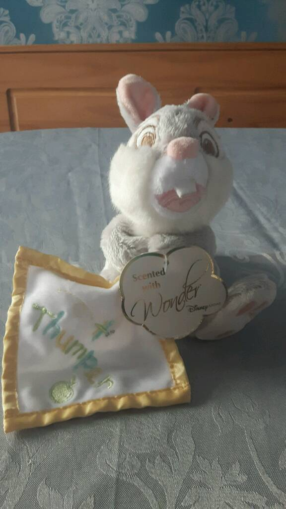 Thumper teddy with tags