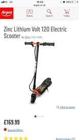 Zinc 120 electric scooter new