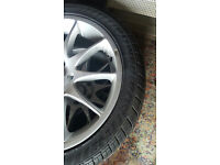 "Smiths Alloy Wheels VW Beetle Passat Jetta Scirocco Touran 17"" 5X112 alloys wheel 215 45 17"