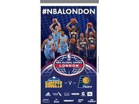 NBA London Game Denver vs Indiana