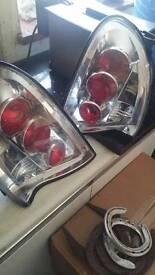 Vauxhall corsa lights