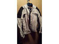 Akito fabric motorbike jacket with armor