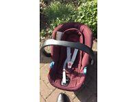 Cybex mama and papas car seat