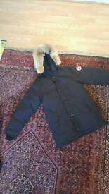 100% Authentic Black Canada Goose Chateau Parka | Size Medium